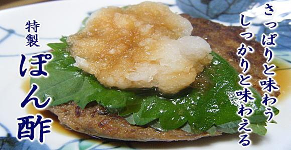 鹿児島甘口醤油屋の特製ポン酢